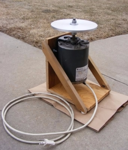 Homemade Rock Polisher