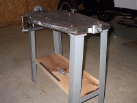 Engine Pan Straightening Jig