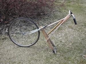 Homemade Wheel Hoe