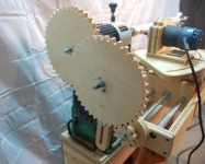 Wood Lathe Spiral Cutting Attachment
