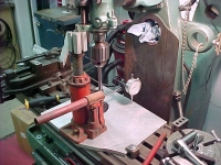 Mill Tramming Setup