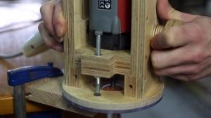 Homemade Plunge Router Base - HomemadeTools net