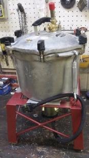 Homemade Open Bowl Centrifuge