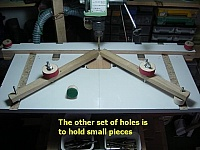 Hold-Down Woodworking Clamps