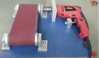 Drill Powered Belt Sander