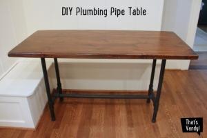 Homemade Work Table