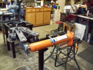 Hydraulic Tubing Bender Conversion