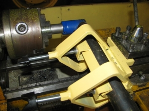 Tube Notching Lathe Attachment