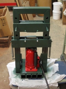 homemade mini hydraulic press. Black Bedroom Furniture Sets. Home Design Ideas