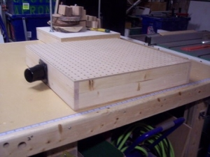 Downdraft Sanding Box
