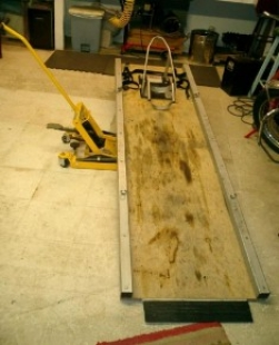 Homemade Low Budget Motorcycle Lift Homemadetools Net
