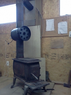 Wood Stove Heat Exchanger