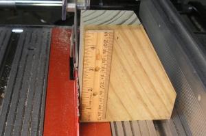 Homemade Table Saw Blade Height Gauge