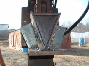 Homemade Log Splitter Press Conversion Homemadetools Net