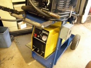 Welding Cart Modification