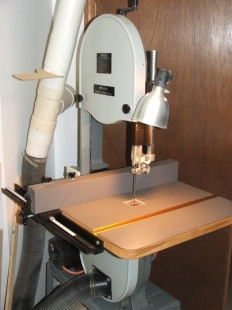Bandsaw Table Upgrade