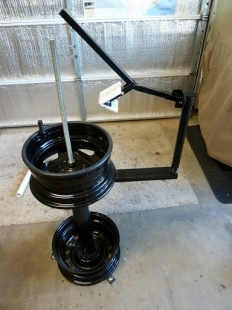 Homemade Tire Changing Stand Homemadetools Net