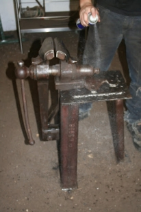 Striking Vise Conversion Project