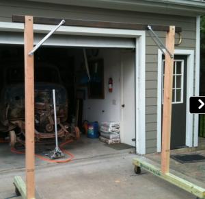 Homemade gantry crane for Shop hoist plans