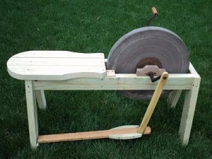Homemade Treadle Grinder Homemadetools Net