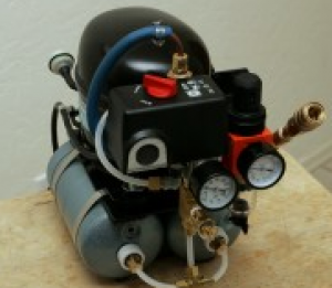 98e2fc6c74f2 Homemade Miniature Silent Air Compressor - HomemadeTools.net