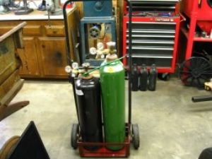 Oxy/Acetylene Cart from Lawnmower