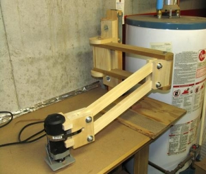 Vertical Axis Router Jig