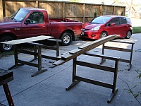 Multi-use Sawhorses