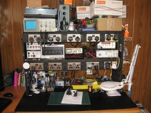 Homemade Electronics Workbench Homemadetools Net