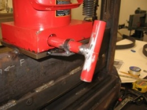 Hydraulic Jack Release Modification