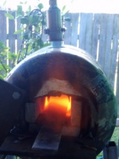 Cylinder Gas Forge