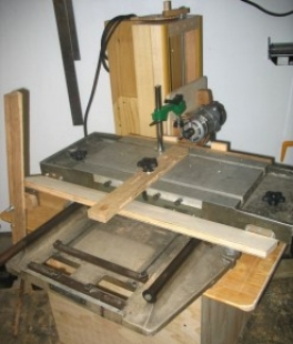 Mill-Drill Table-Based Slot Mortiser