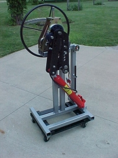 Roll-A-Round Bender Stand
