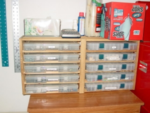 Wooden Organizer Rack