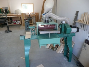 Lathe Powered Thickness Sander