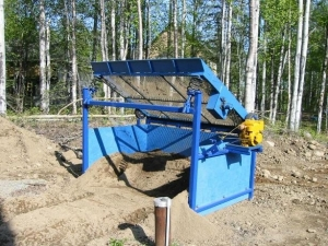 Homemade Topsoil Screener