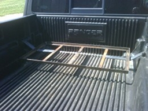 Truck Bed Toolbox Frame