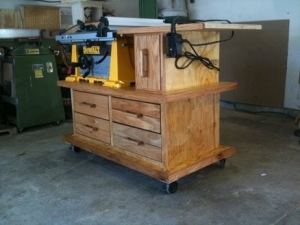 Router and Table Saw Workstation