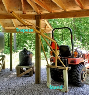 Homemade Garden Tractor Boom Pole Homemadetools Net