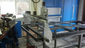 Homemade CNC Plasma Table Gantry