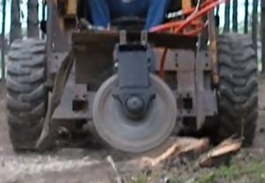 Homemade stump grinder homemade ftempo for Killing tree stumps with motor oil
