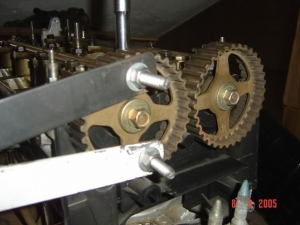 Homemade cam gear holding tool homemadetools cam gear holding tool fandeluxe Images