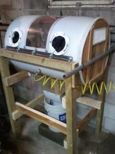 Homemade Sandblasting Cabinet Homemadetools Net