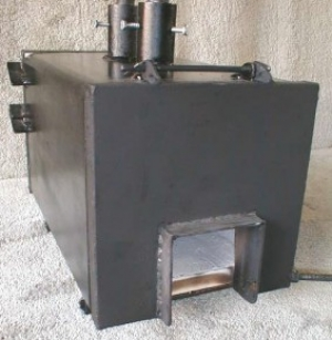 Square Body Gas Forge