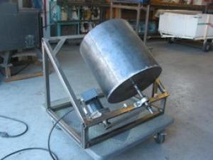 Homemade Deburring Tumbler - HomemadeTools net