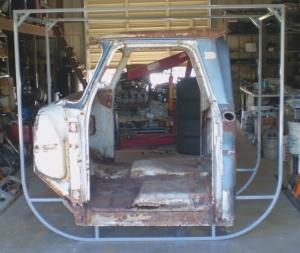 67 72 Chevy Truck Forum >> Homemade Cab Rotating Stand - HomemadeTools.net