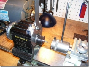 Spindle Lock for Taig Lathe