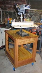 Homemade Benchtop Drill Press Stand Homemadetools Net