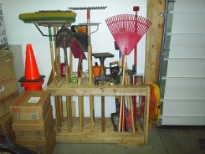 garden tool rack - Garden Tool Rack