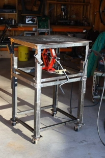 Homemade Adjustable Height Welding Table Homemadetools Net